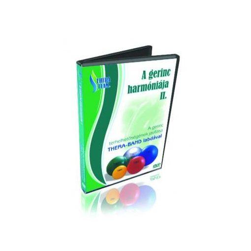A gerinc harmóniája II. labdával (DVD lemez)