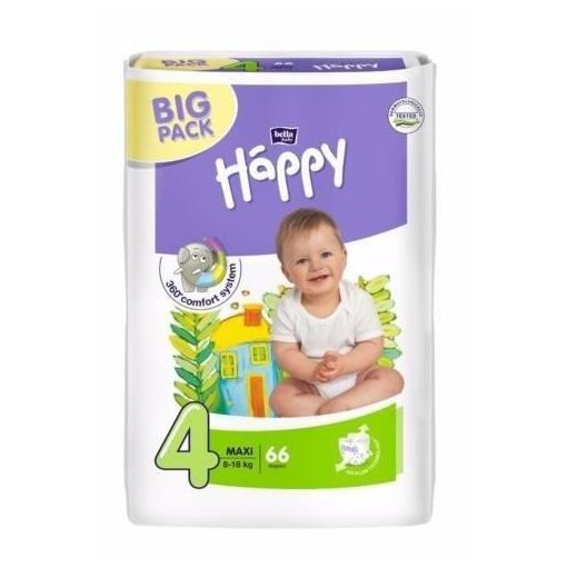 Bella Happy Maxi Big Pack pelenka (8-18kg) x66