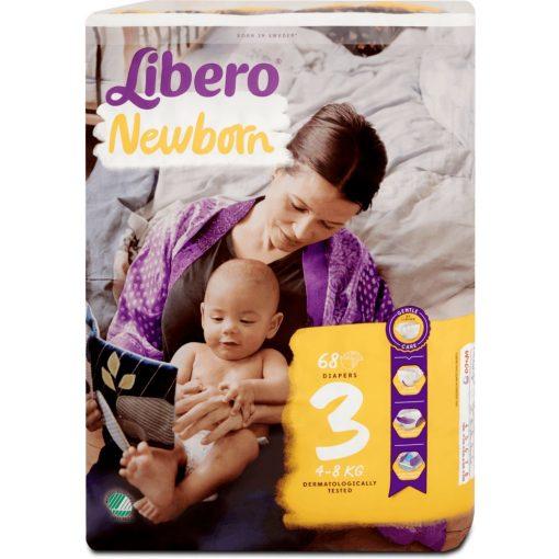 Libero NewBorn ujszülött pelenka (4-8kg) - 68db