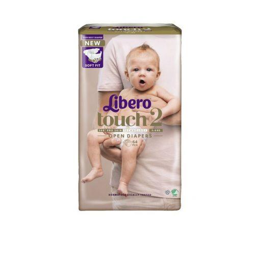 Libero Touch 2 pelenka (3-6kg) - 64db