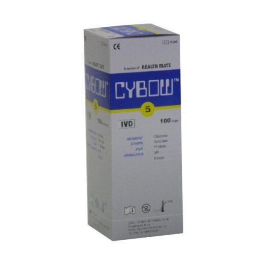 Cybow 5 vizelet tesztcsík (100db)