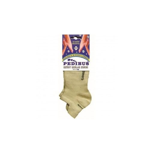 Ezüst titok zokni -pedibus