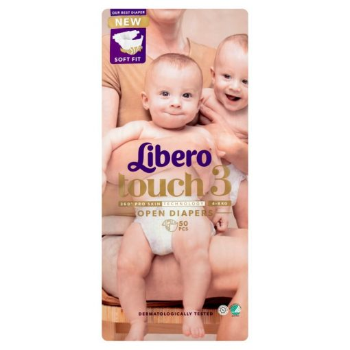 Libero Touch 3 pelenka (4-8kg) - 50db