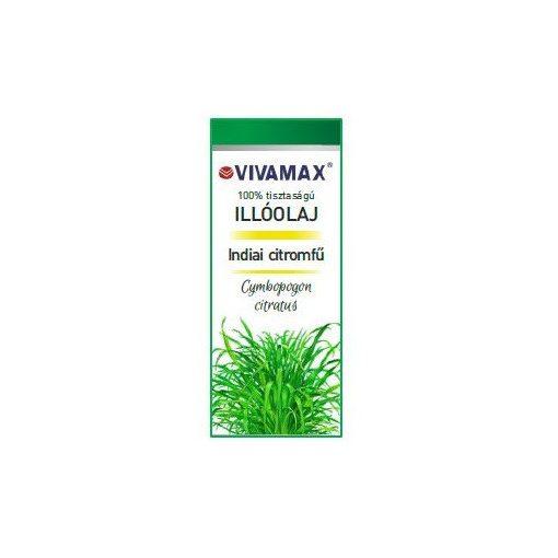 Vivamax Indiai Citromfű Illóolaj 10 ml